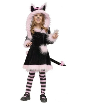Pretty Kitty Toddler Girls Costume