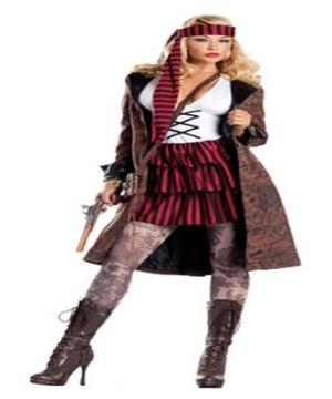 Provocative Pirate Women Costume