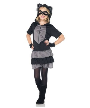 Raccoon Girl Costume