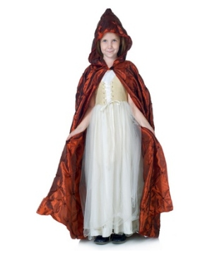 Red Cape Girl Costume