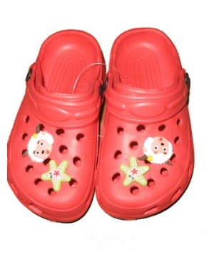 Red Clog Kids Shoes