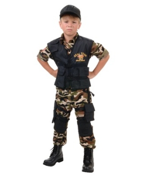 Seal Boys Costume