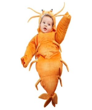 Shrimp Baby Costume