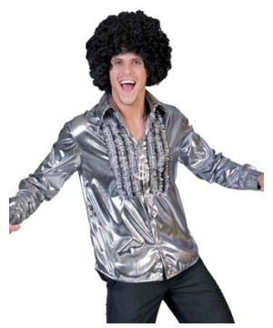 Silver Saturday Night Men Costume