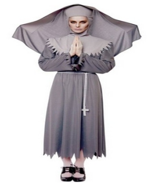 Sister Spirit Nun Womens Costume