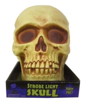 Skeleton Skull Strobe Light