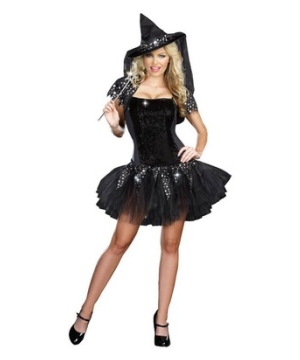 Starry Night Witch Women Costume