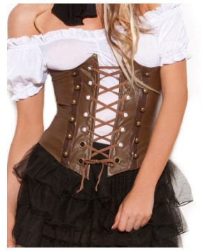 Steampunk Corset Women Costume