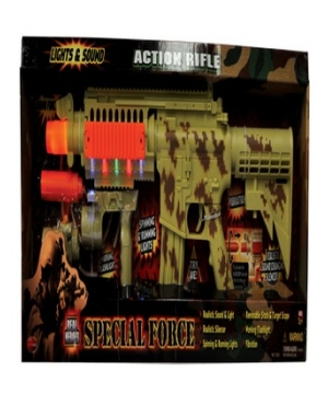 Swat Action Gun Costume Accessory