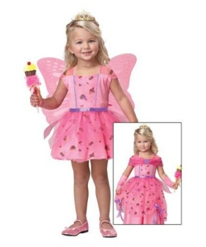 Sweet Fairy Princess Girls Costume