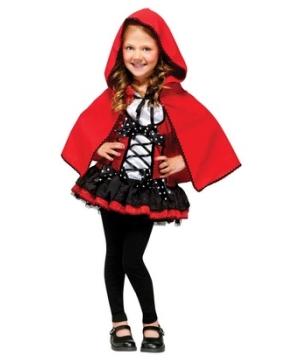 Sweet Red Hood Girls Costume