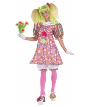 Tickles Clown Women Costume