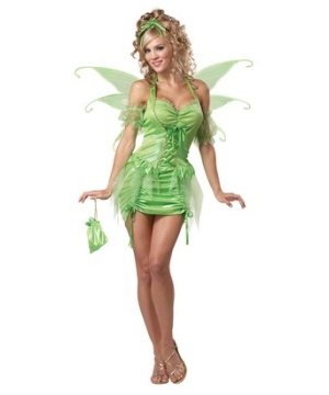 Tinkerbell Fairy Women Costume