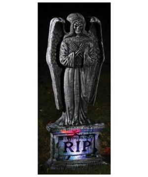 Tombstone Gothic Angel Halloween Decoration