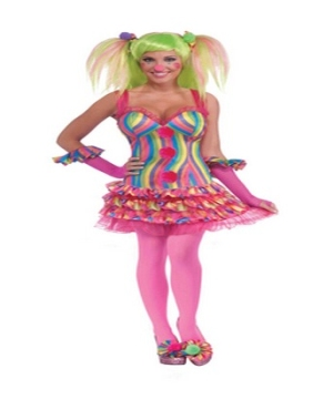 Tootsie Clown Women Costume
