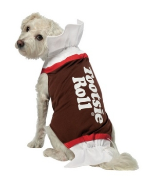 Tootsie Roll Pet Costume