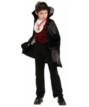 Transylvanian Vampire Boys Costume
