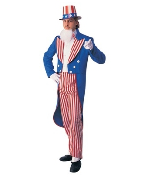 Uncle Sam Men Costume