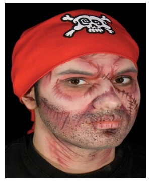 Undead Pirate Makeup Kit