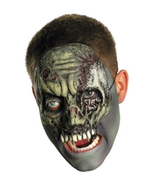 Walking Zombie Chinless Mask