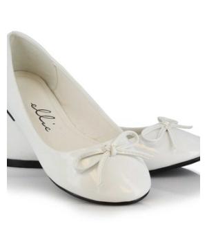 White Glitter Shoes