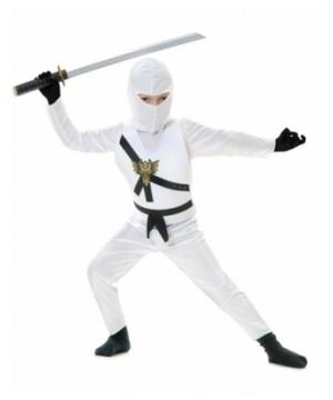 White Ninja Baby Costume