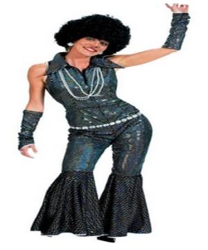 Womens Boogie Costume