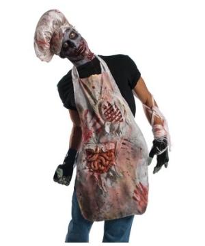 Zombie Butcher Apron Costume