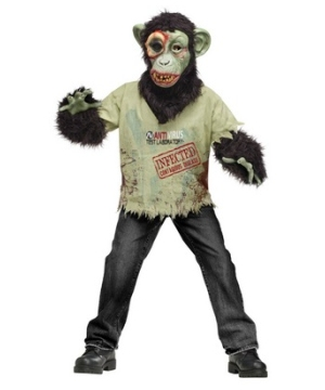Zombie Chimp Boys Costume
