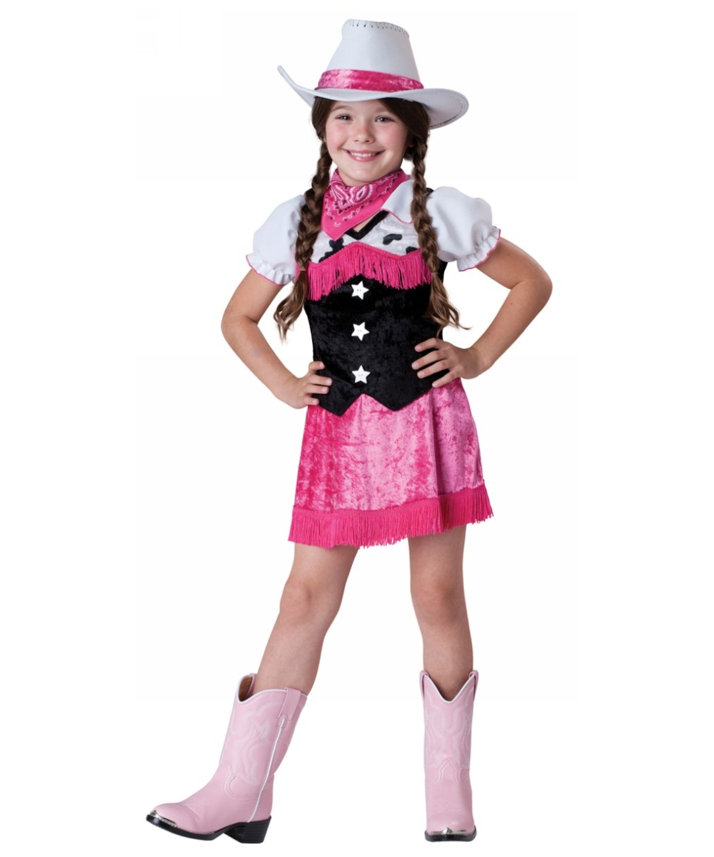 Cowgirl cutie kids costume cowboy costumes for Halloween costume ideas for kids girls