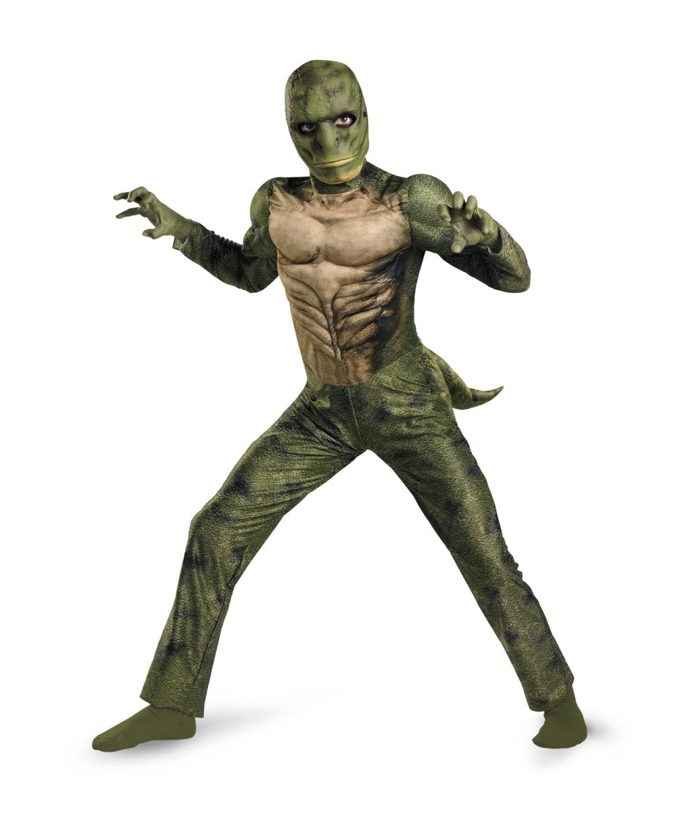 Lizard Toys For Boys : Spiderman amazing lizard kids costume boy spider man