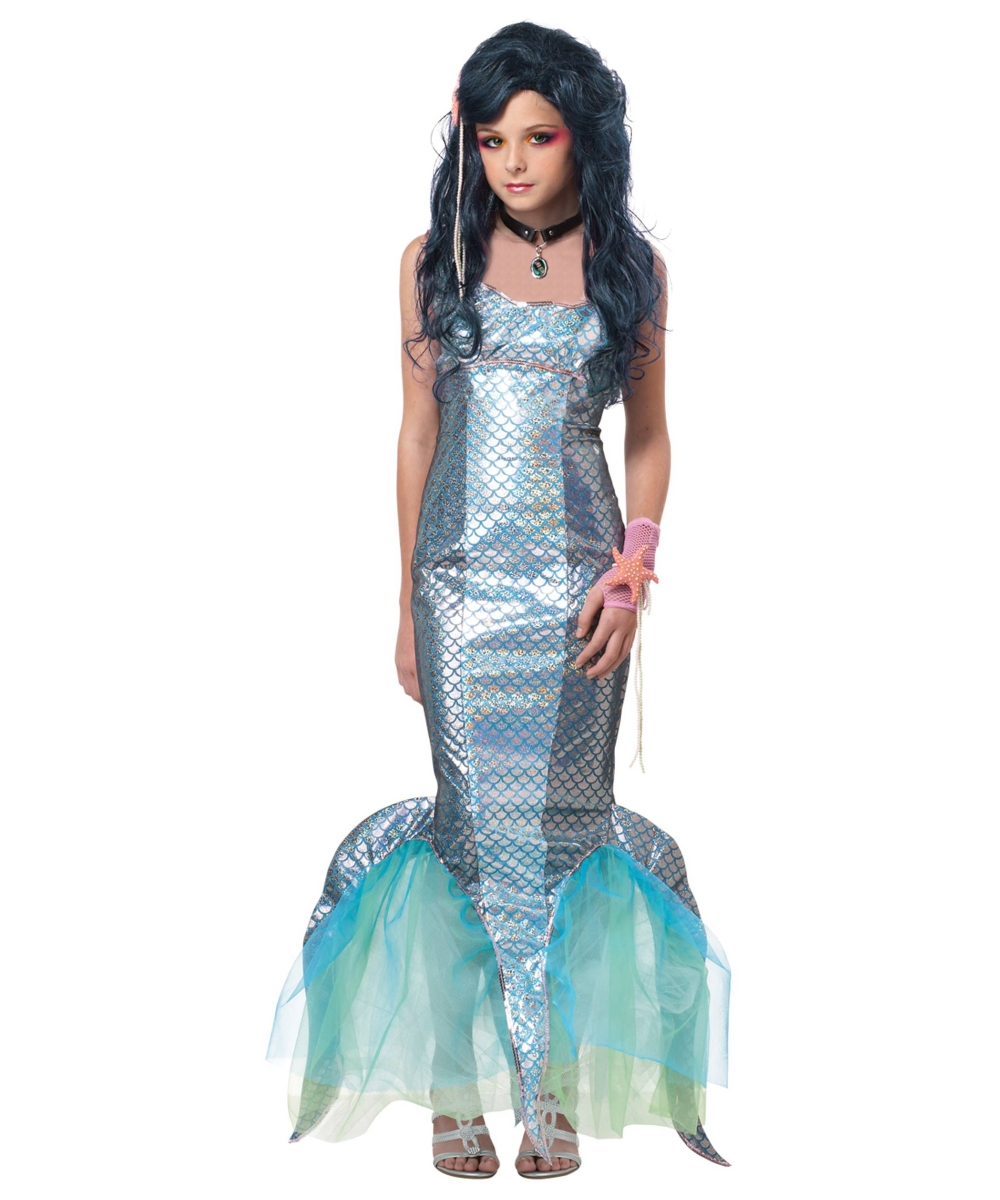 Pearl Swirl Ariel Mermaid Tween Costume Disney Costumes
