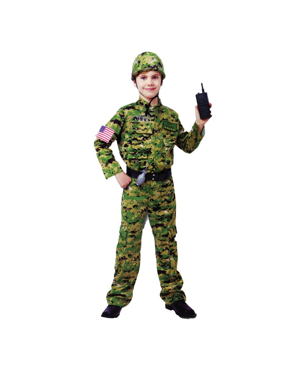 Army Costume - Soldier Costumes