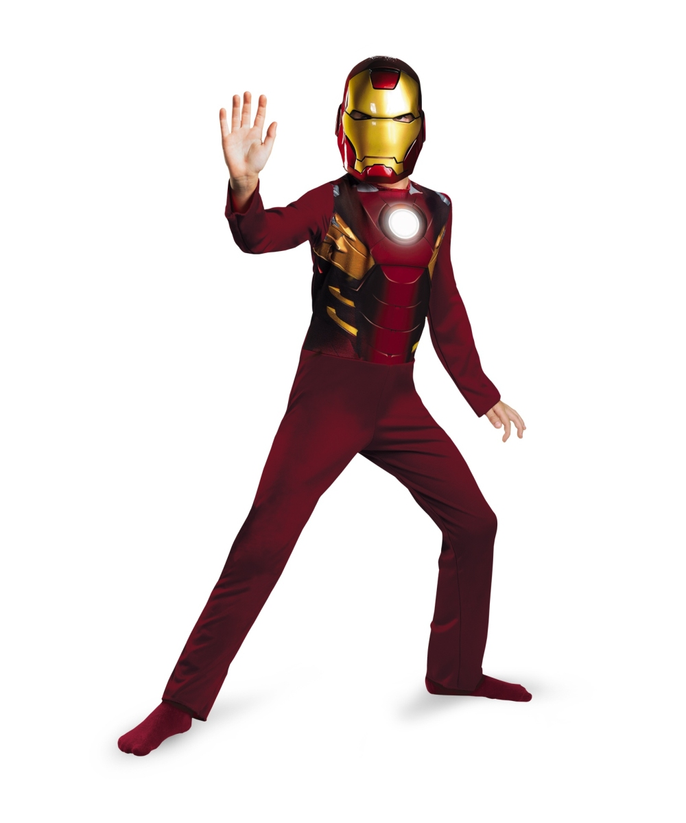 avengers iron man mark 7 kids costume boy movie costumes. Black Bedroom Furniture Sets. Home Design Ideas