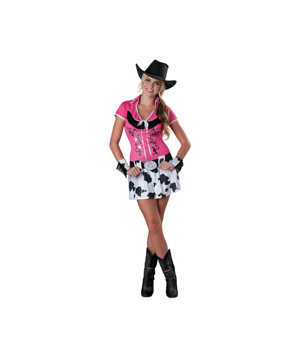 cowgirl bling teen costume cowboy costumes