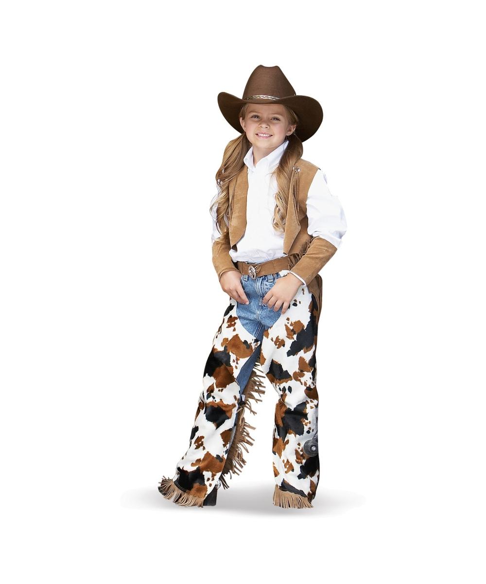 Girl Cowboy Costume Cowboy Kids Cowgirl Costume