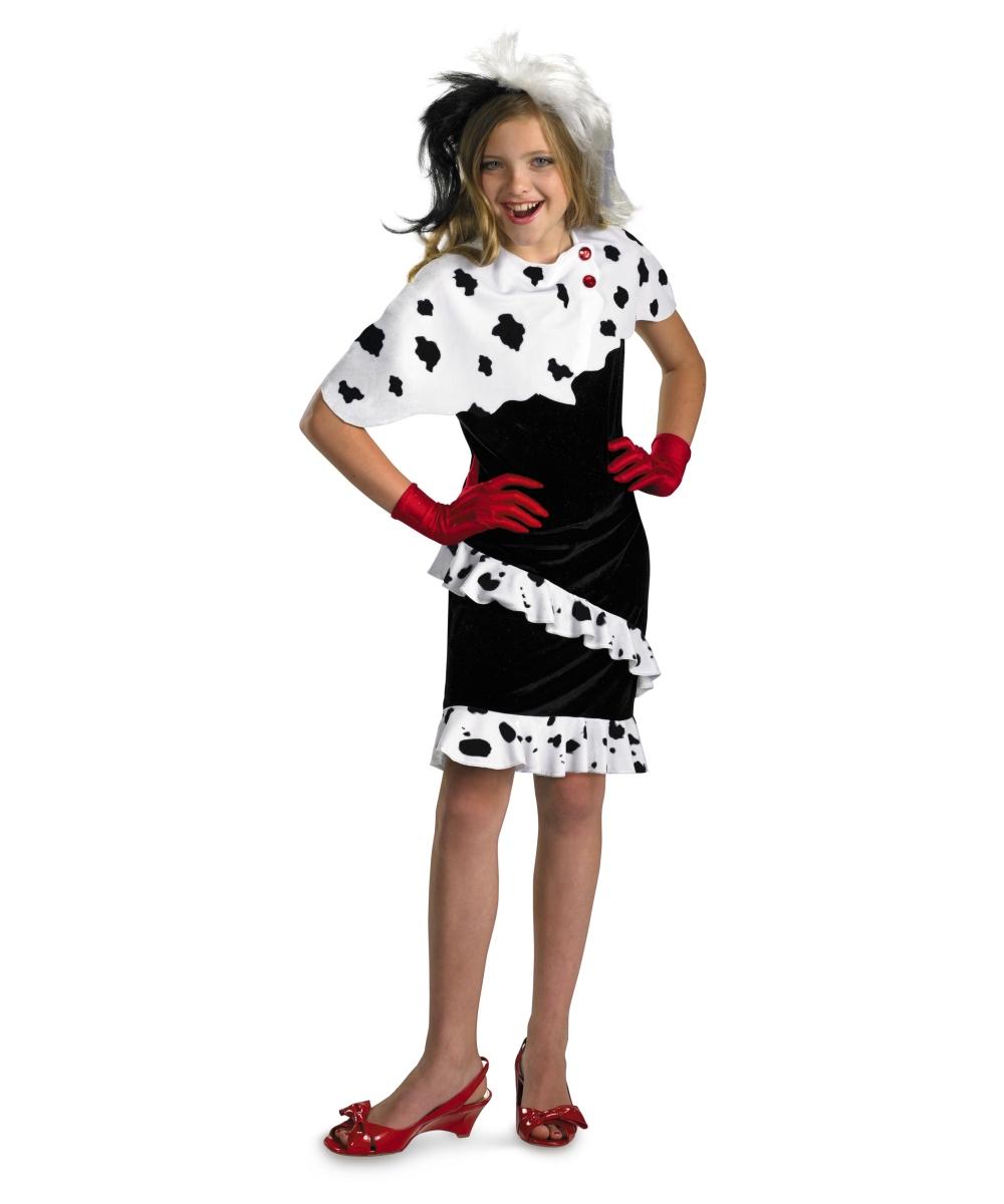 Dalmatians Cruella Girl Costume