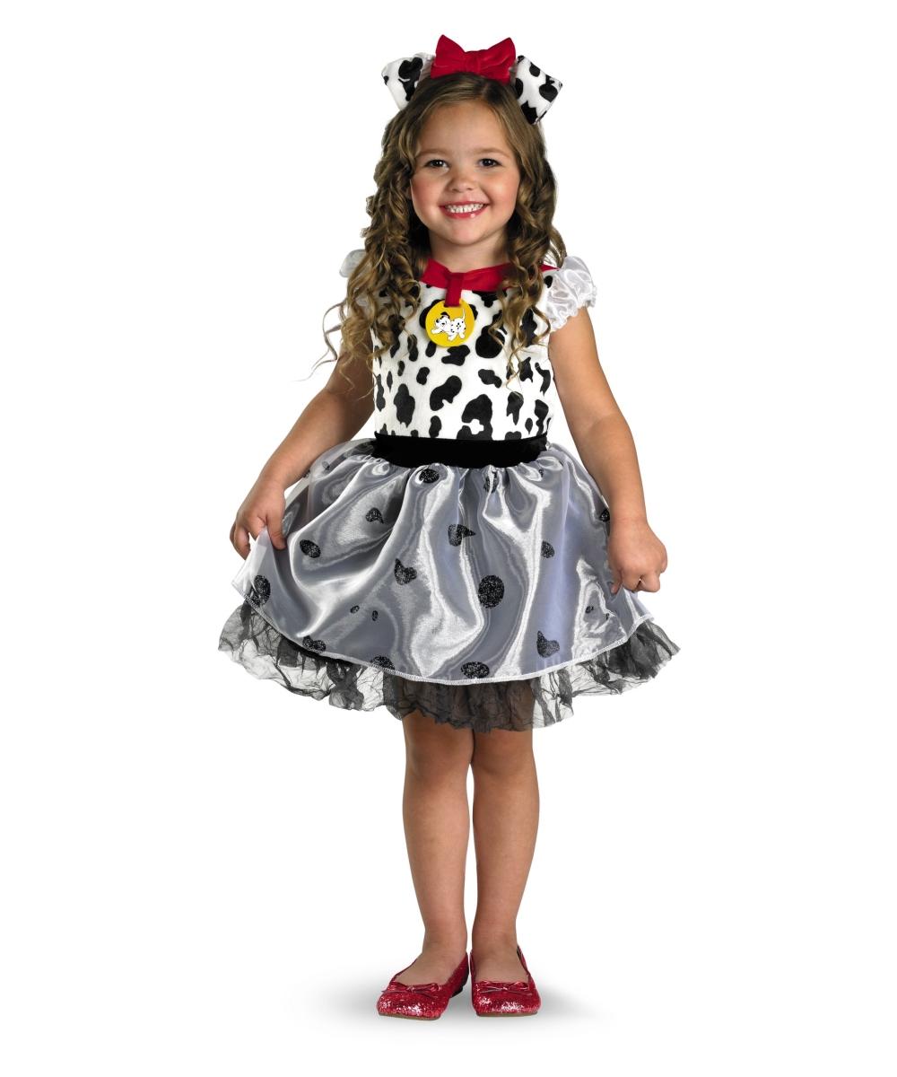 Disney 101 Dalmatians Toddler Costume - Girl Disney Costumes - Toddler Disney  Outfits Oncity Fashion - Toddler Disney Outfits Oncity Fashion