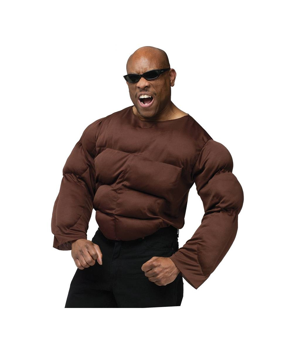 Dark Skin Tone Chest Costume