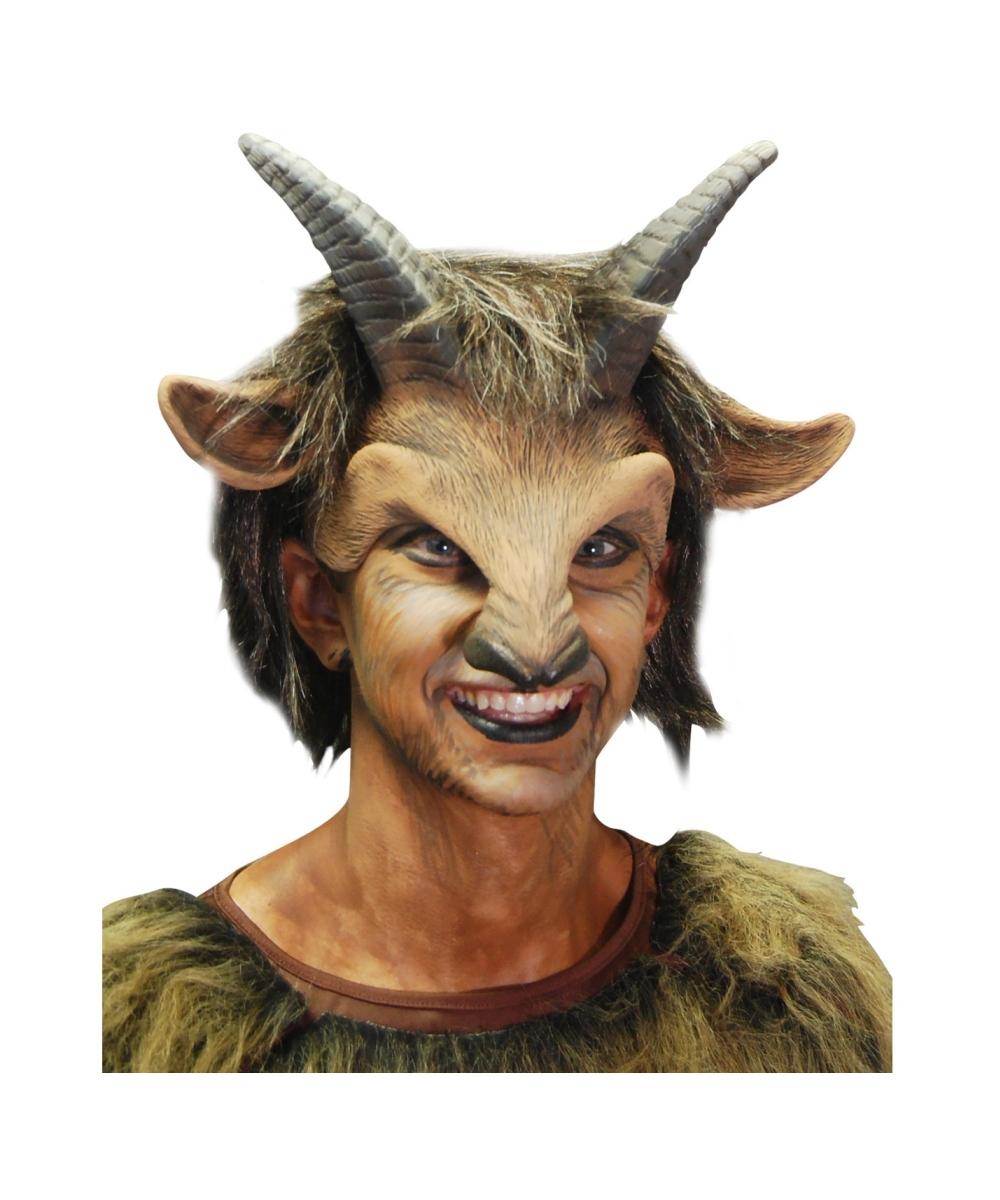 Adult Goat Halloween Mask Costume Mask