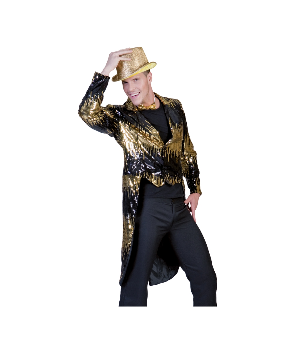 Adult Gold Tailcoat Costume - Halloween Costumes