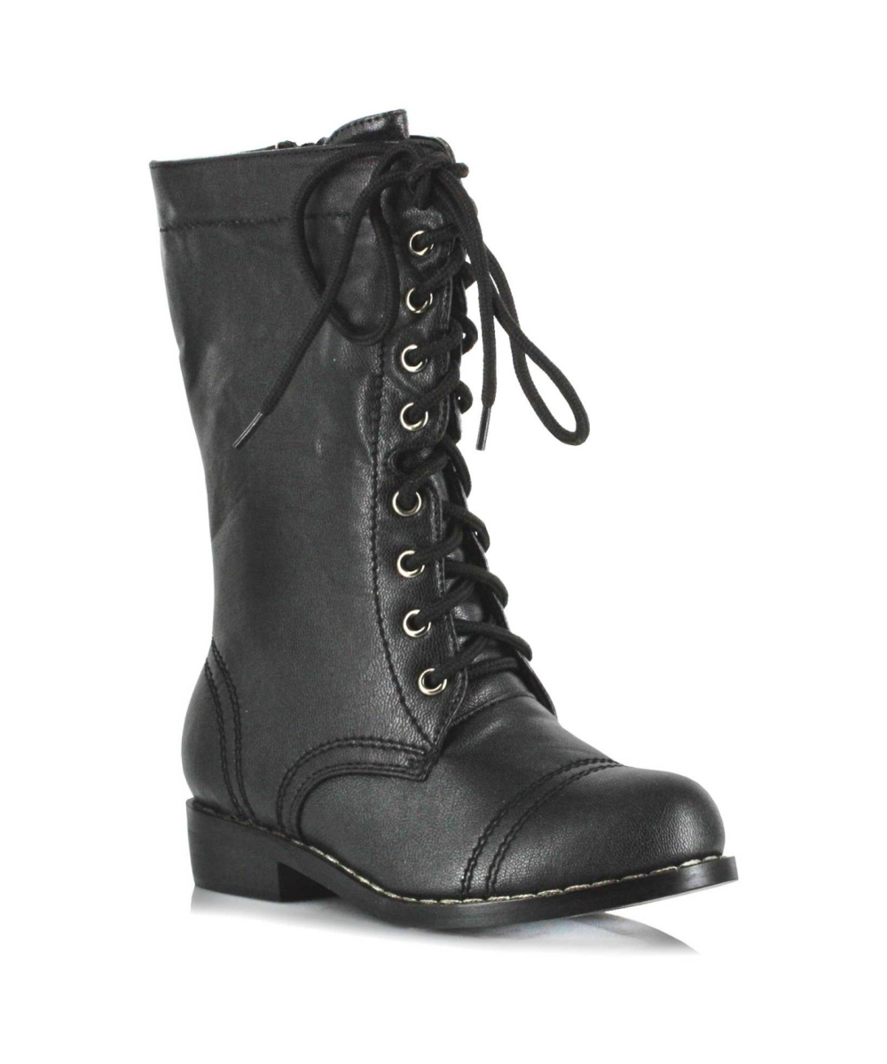 Question: Where can I find Civil War era boots my kids (boys and girls) that wouldn't be as expensive reproduction boots. Answer: I hear you. Kids outgrow shoes quickly which makes them a hefty investment for an occasional hobby. Once upon a time, I was a little girl in need of lace up black boots for a production of The Music Man (Edwardian era) and my mom had to hunt down where to find them.
