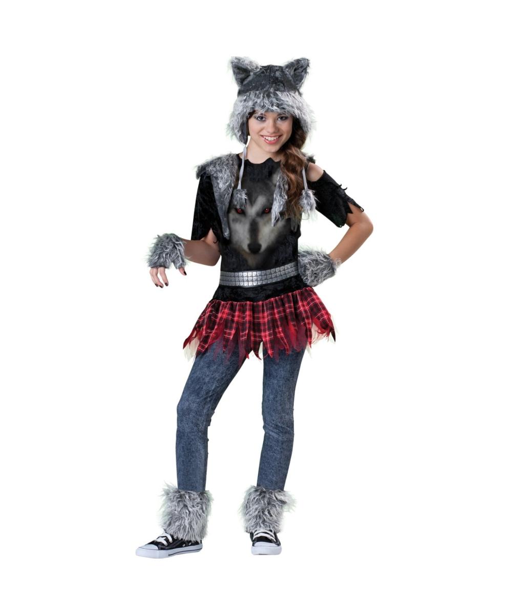 Wear Wolf Teen Animal Costume - Teen Costumes for Halloween