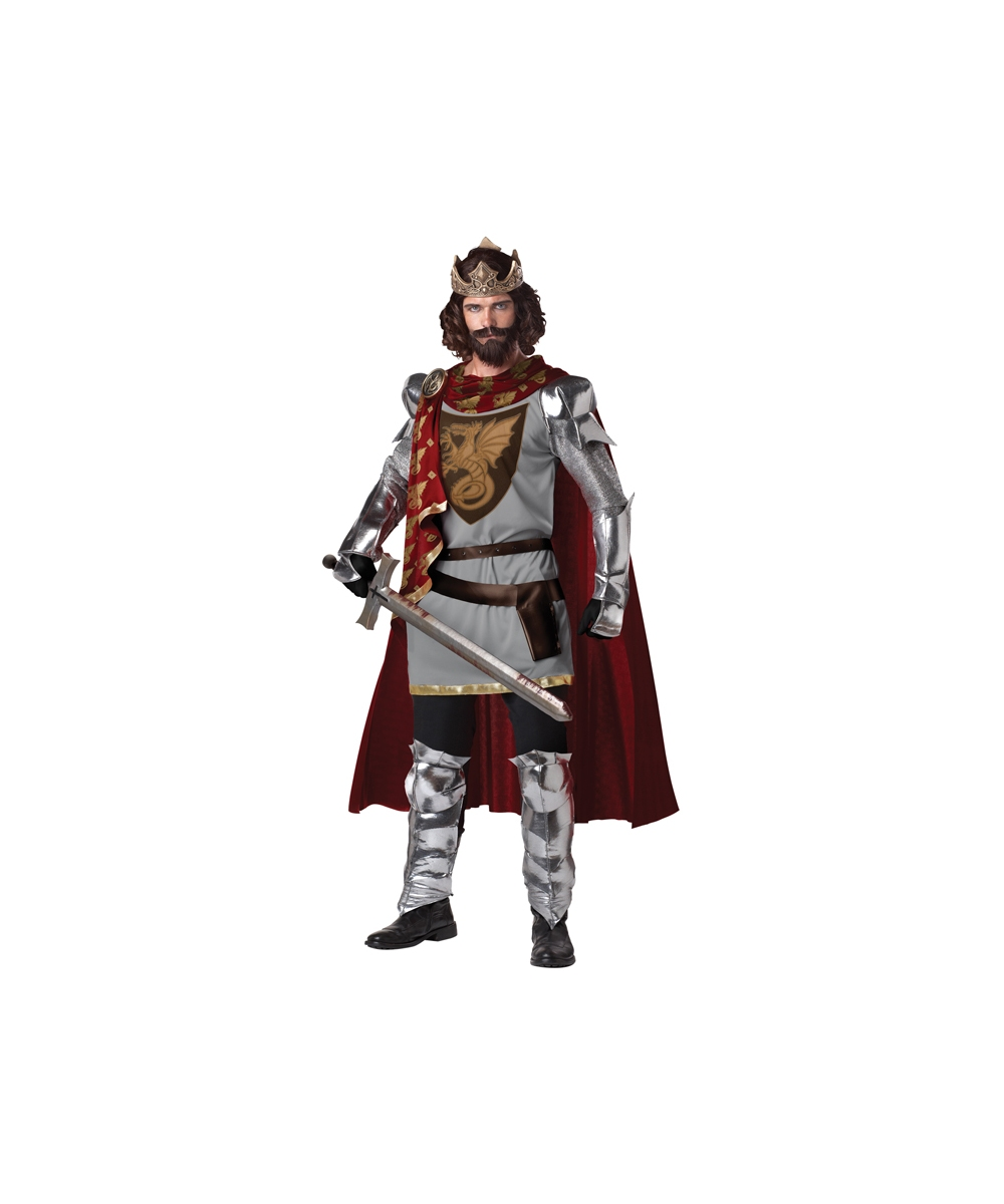 search adult king costumes