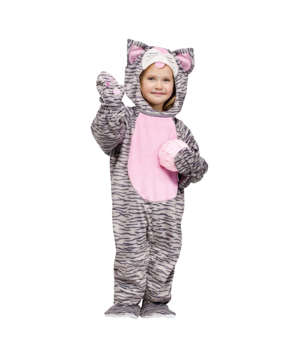 Little Stripe Kitten Baby Costume Girls Costume