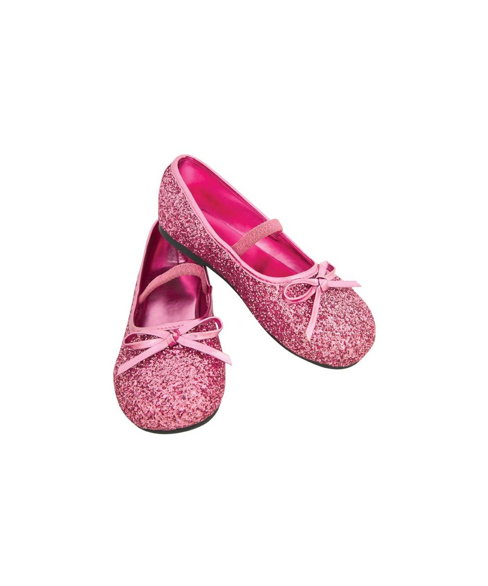 light pink flat shoes