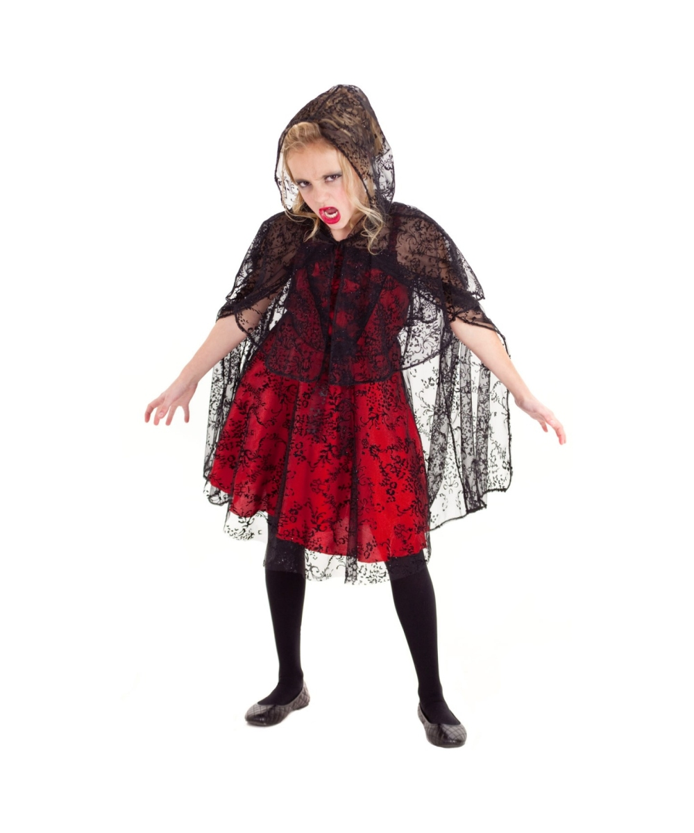 vampire mina kids costume girl halloween costumes. Black Bedroom Furniture Sets. Home Design Ideas
