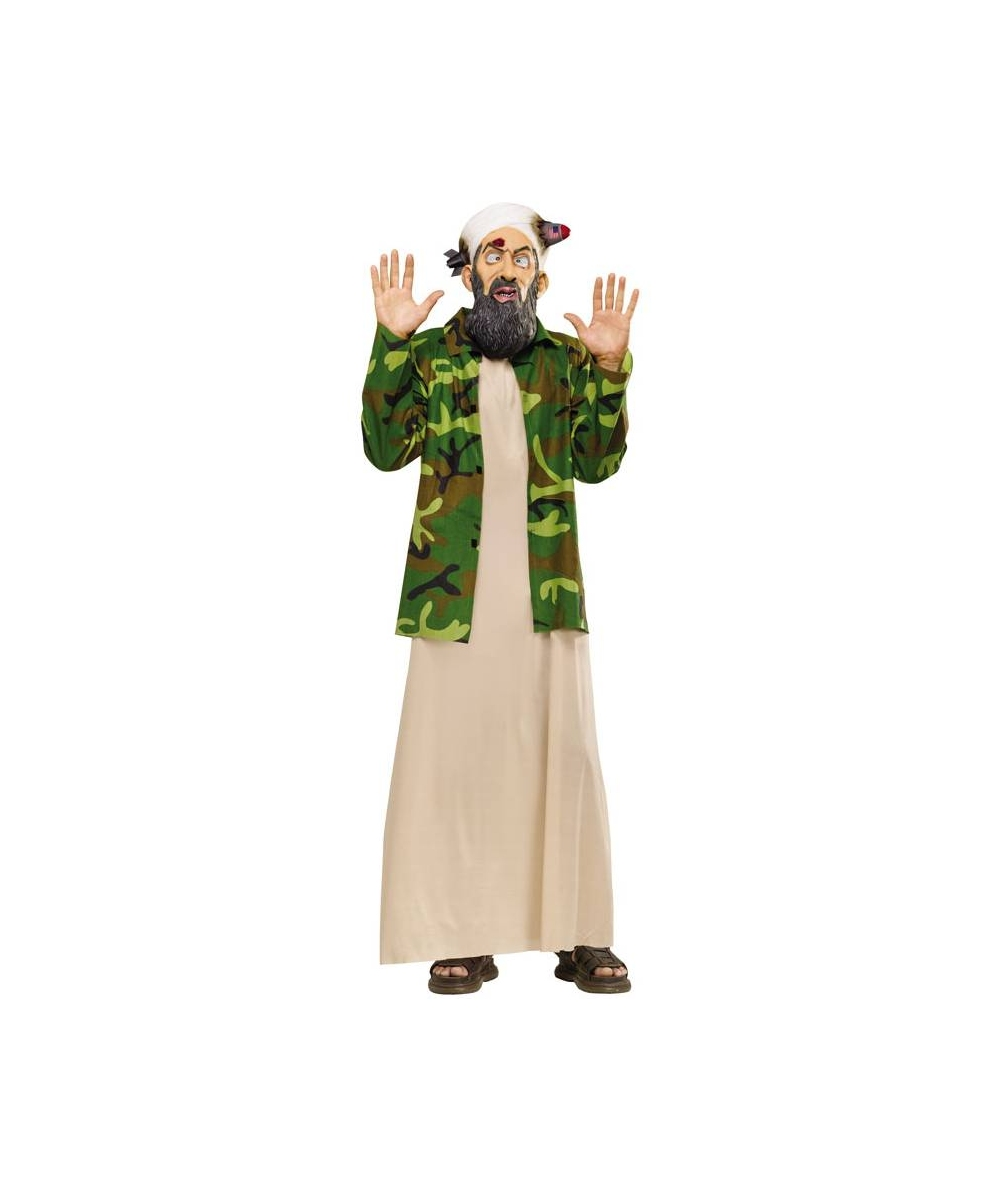 Most Wanted Osama Adult Costume