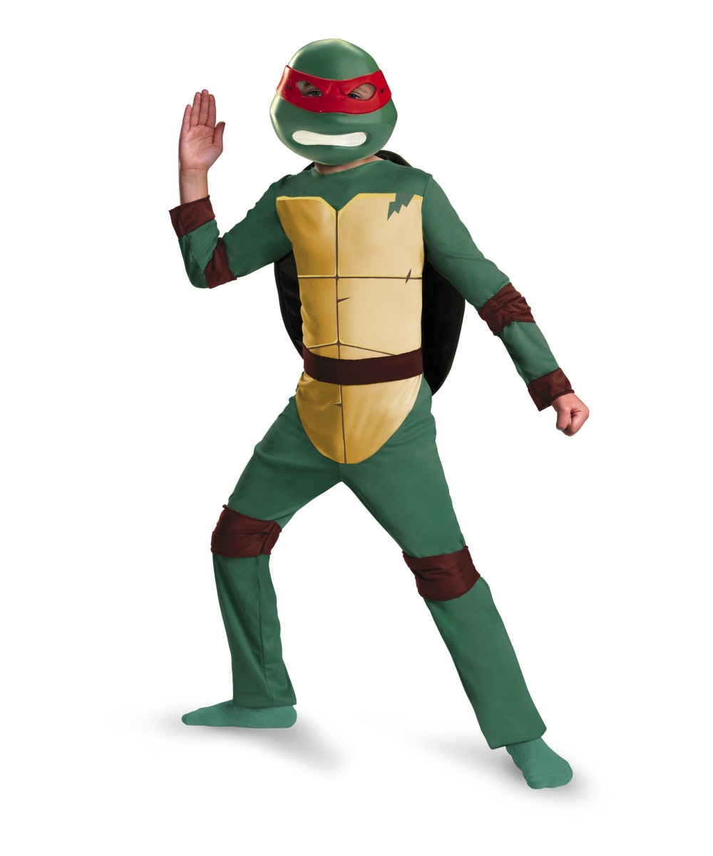 Ninja Turtles Raphael Animated Kids Costume