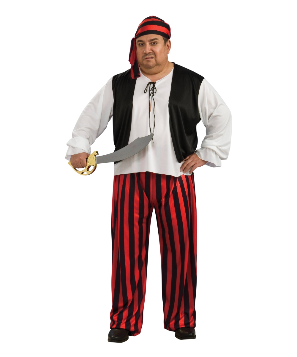 Pirate plus size Costume - Pirate Costumes